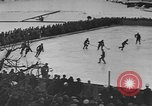 Image of ice hockey match Garmisch-Partenkirchen Germany, 1936, second 3 stock footage video 65675076355