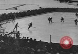 Image of ice hockey match Garmisch-Partenkirchen Germany, 1936, second 4 stock footage video 65675076355