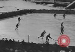 Image of ice hockey match Garmisch-Partenkirchen Germany, 1936, second 5 stock footage video 65675076355