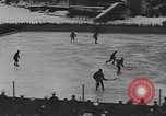 Image of ice hockey match Garmisch-Partenkirchen Germany, 1936, second 6 stock footage video 65675076355
