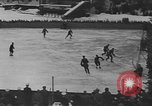 Image of ice hockey match Garmisch-Partenkirchen Germany, 1936, second 7 stock footage video 65675076355