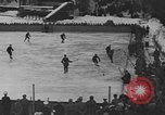 Image of ice hockey match Garmisch-Partenkirchen Germany, 1936, second 8 stock footage video 65675076355