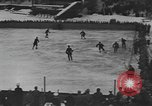 Image of ice hockey match Garmisch-Partenkirchen Germany, 1936, second 9 stock footage video 65675076355