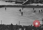 Image of ice hockey match Garmisch-Partenkirchen Germany, 1936, second 10 stock footage video 65675076355