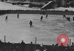 Image of ice hockey match Garmisch-Partenkirchen Germany, 1936, second 11 stock footage video 65675076355
