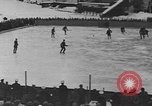 Image of ice hockey match Garmisch-Partenkirchen Germany, 1936, second 12 stock footage video 65675076355