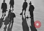 Image of ice curling match Garmisch-Partenkirchen Germany, 1936, second 9 stock footage video 65675076356