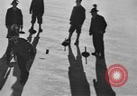 Image of ice curling match Garmisch-Partenkirchen Germany, 1936, second 10 stock footage video 65675076356