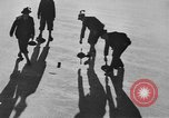 Image of ice curling match Garmisch-Partenkirchen Germany, 1936, second 11 stock footage video 65675076356