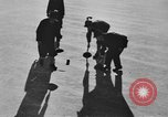 Image of ice curling match Garmisch-Partenkirchen Germany, 1936, second 12 stock footage video 65675076356
