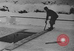 Image of bobsledding Garmisch-Partenkirchen Germany, 1936, second 8 stock footage video 65675076359
