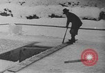 Image of bobsledding Garmisch-Partenkirchen Germany, 1936, second 10 stock footage video 65675076359