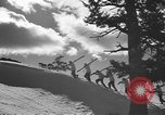 Image of skiing United States USA, 1941, second 10 stock footage video 65675076386