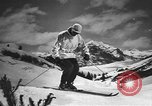 Image of skiing United States USA, 1941, second 11 stock footage video 65675076387