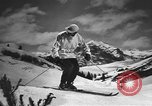 Image of skiing United States USA, 1941, second 12 stock footage video 65675076387