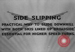 Image of skiing United States USA, 1941, second 2 stock footage video 65675076391