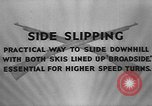 Image of skiing United States USA, 1941, second 3 stock footage video 65675076391