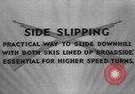 Image of skiing United States USA, 1941, second 7 stock footage video 65675076391