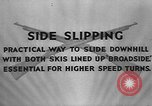 Image of skiing United States USA, 1941, second 10 stock footage video 65675076391