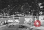 Image of skiing United States USA, 1942, second 1 stock footage video 65675076398