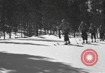 Image of skiing United States USA, 1942, second 3 stock footage video 65675076398