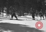Image of skiing United States USA, 1942, second 6 stock footage video 65675076398