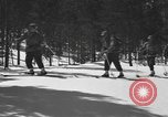 Image of skiing United States USA, 1942, second 7 stock footage video 65675076398