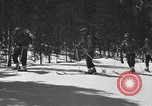 Image of skiing United States USA, 1942, second 8 stock footage video 65675076398
