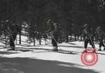 Image of skiing United States USA, 1942, second 9 stock footage video 65675076398