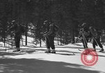 Image of skiing United States USA, 1942, second 10 stock footage video 65675076398
