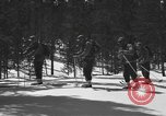 Image of skiing United States USA, 1942, second 11 stock footage video 65675076398