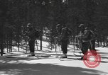 Image of skiing United States USA, 1942, second 12 stock footage video 65675076398