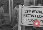 Image of 59th Weather Reconnaissance Flight Bermuda, 1955, second 11 stock footage video 65675076431