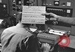 Image of USAF Weather office in Bermuda Bermuda, 1955, second 7 stock footage video 65675076446