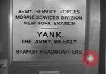 Image of Yank Magazine United States USA, 1944, second 2 stock footage video 65675076460