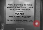 Image of Yank Magazine United States USA, 1944, second 3 stock footage video 65675076460