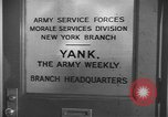 Image of Yank Magazine United States USA, 1944, second 4 stock footage video 65675076460