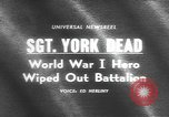 Image of Sergeant Alvin York United States USA, 1964, second 2 stock footage video 65675076465