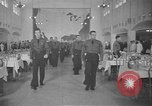 Image of U.S. Army Air Forces Flying Cadets in dining hall at Randolph Field Texas USA, 1940, second 1 stock footage video 65675076479