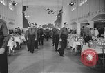 Image of U.S. Army Air Forces Flying Cadets in dining hall at Randolph Field Texas USA, 1940, second 3 stock footage video 65675076479