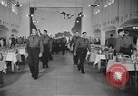 Image of U.S. Army Air Forces Flying Cadets in dining hall at Randolph Field Texas USA, 1940, second 4 stock footage video 65675076479