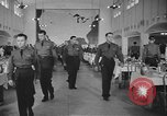 Image of U.S. Army Air Forces Flying Cadets in dining hall at Randolph Field Texas USA, 1940, second 6 stock footage video 65675076479