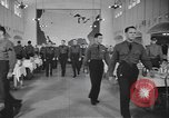 Image of U.S. Army Air Forces Flying Cadets in dining hall at Randolph Field Texas USA, 1940, second 7 stock footage video 65675076479