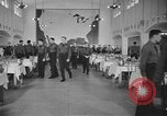 Image of U.S. Army Air Forces Flying Cadets in dining hall at Randolph Field Texas USA, 1940, second 8 stock footage video 65675076479