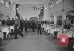 Image of U.S. Army Air Forces Flying Cadets in dining hall at Randolph Field Texas USA, 1940, second 9 stock footage video 65675076479