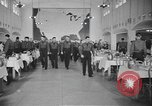 Image of U.S. Army Air Forces Flying Cadets in dining hall at Randolph Field Texas USA, 1940, second 10 stock footage video 65675076479