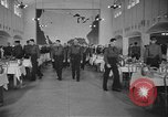Image of U.S. Army Air Forces Flying Cadets in dining hall at Randolph Field Texas USA, 1940, second 11 stock footage video 65675076479