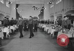 Image of U.S. Army Air Forces Flying Cadets in dining hall at Randolph Field Texas USA, 1940, second 12 stock footage video 65675076479