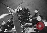 Image of U.S. flying cadets learn about airplane systems and parts Texas USA, 1940, second 7 stock footage video 65675076483