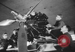 Image of U.S. flying cadets learn about airplane systems and parts Texas USA, 1940, second 10 stock footage video 65675076483